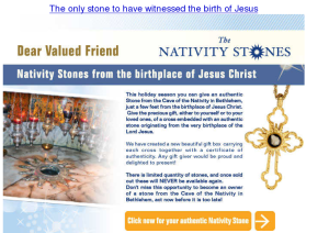 Nativity Stones Mail